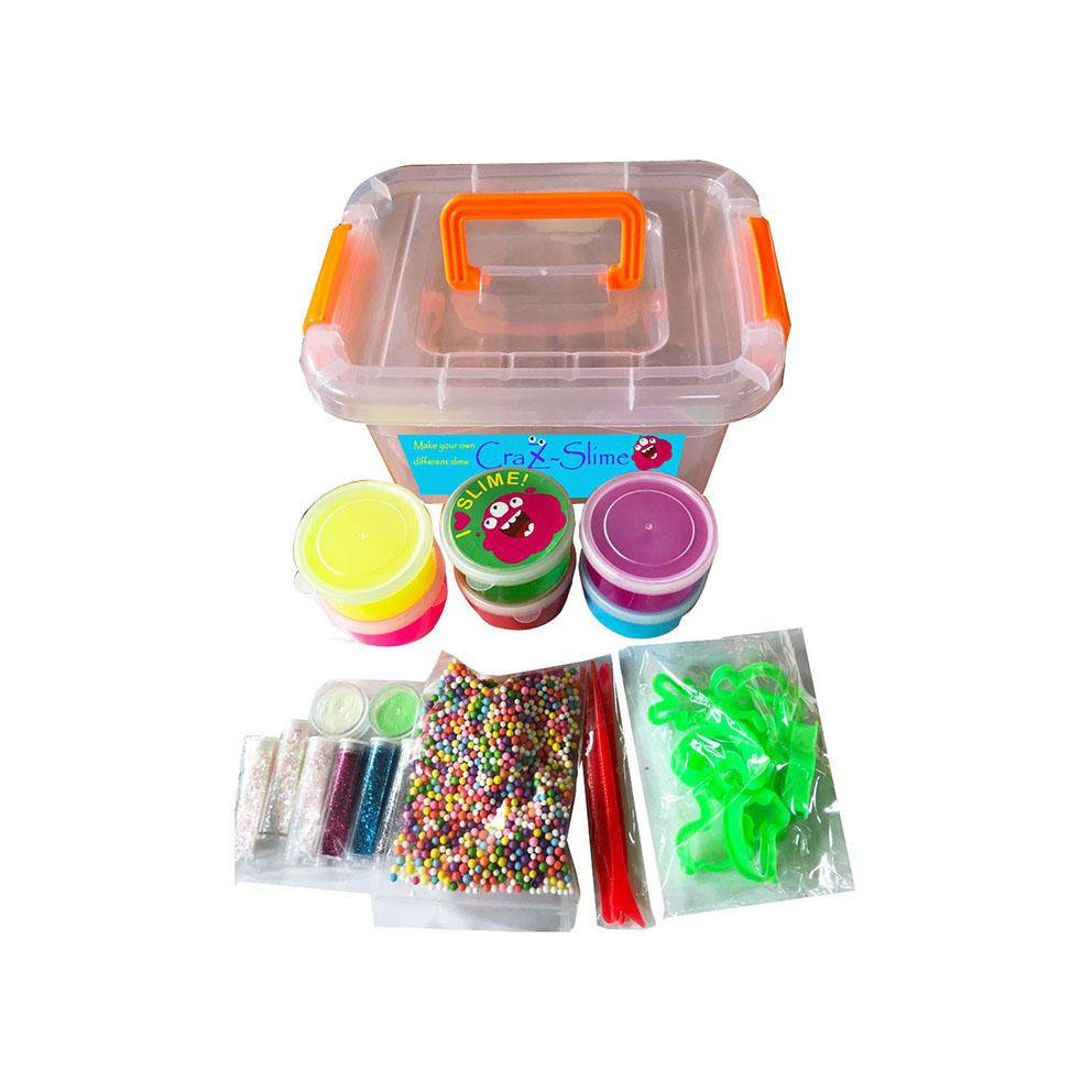 Diy Fluffy Slime Kit Crystal Slime Jelly Slime Making Kit - Buy Diy Fluffy  Slime Kit,Slime Making Kit,Fluffy Slime Making Kit Product on Alibaba com
