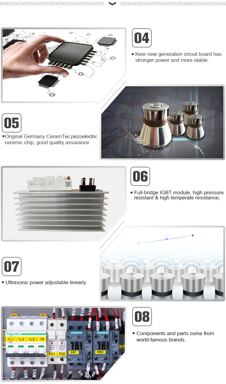 Manufacturer diesel engine ultrasonic cleaner