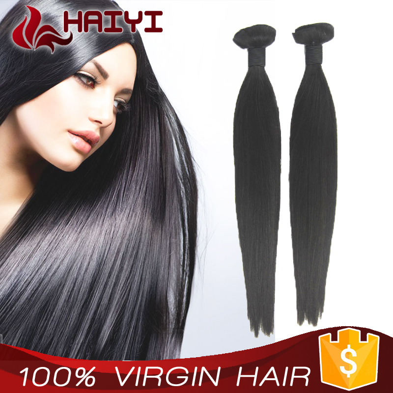 Tangle free shedding free Double drawn high quality 100 raw unprocessed chinese virgin hair