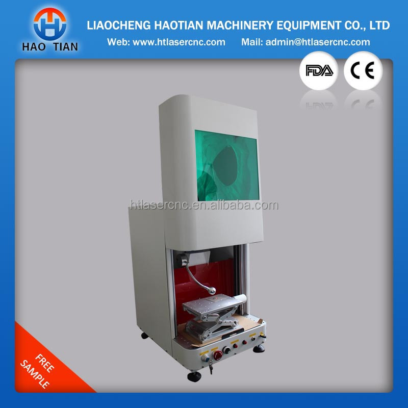 hot sale safety closed fiber laser 20w marking machine to America