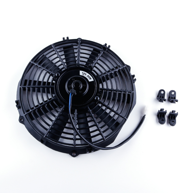 High Quality Universial Size Radiator Electria Fan In 7Inch 9inch 10inch 12Inch 14Inch 12V 80W