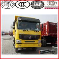 20 cubic dumper box big horse power Sinotruk 10 wheel dump trucks for sale