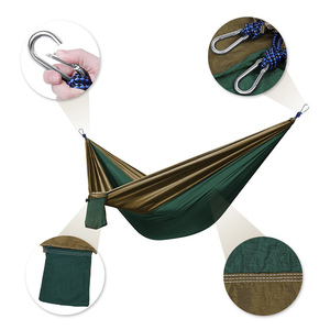 Wholesale Double Person Portable Parachute Nylon Hammock