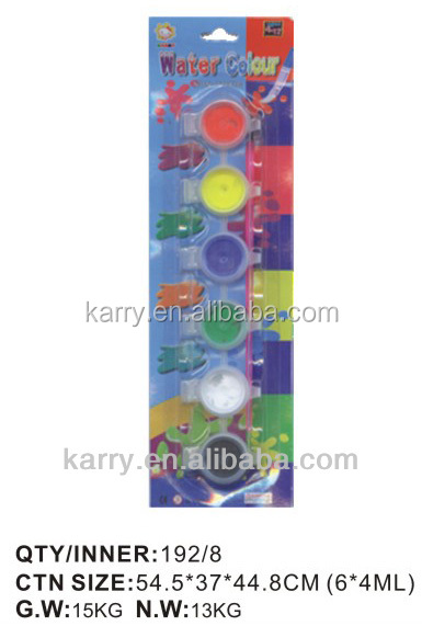 supply High quality DIY washable water color /acrylic paint/crayon/DIY series