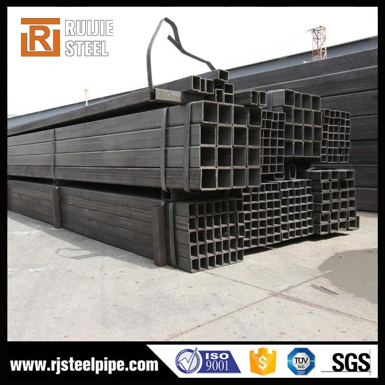 Marco de tubo de acero, st33 tubería erw rectangulares de diámetro ...