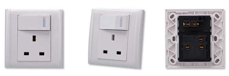 Uk Socket With Switch Power Under Cabinet Power Strip With Usb ...
