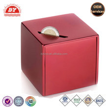 Personalized Plastic Square Money box Coins Money Saving container