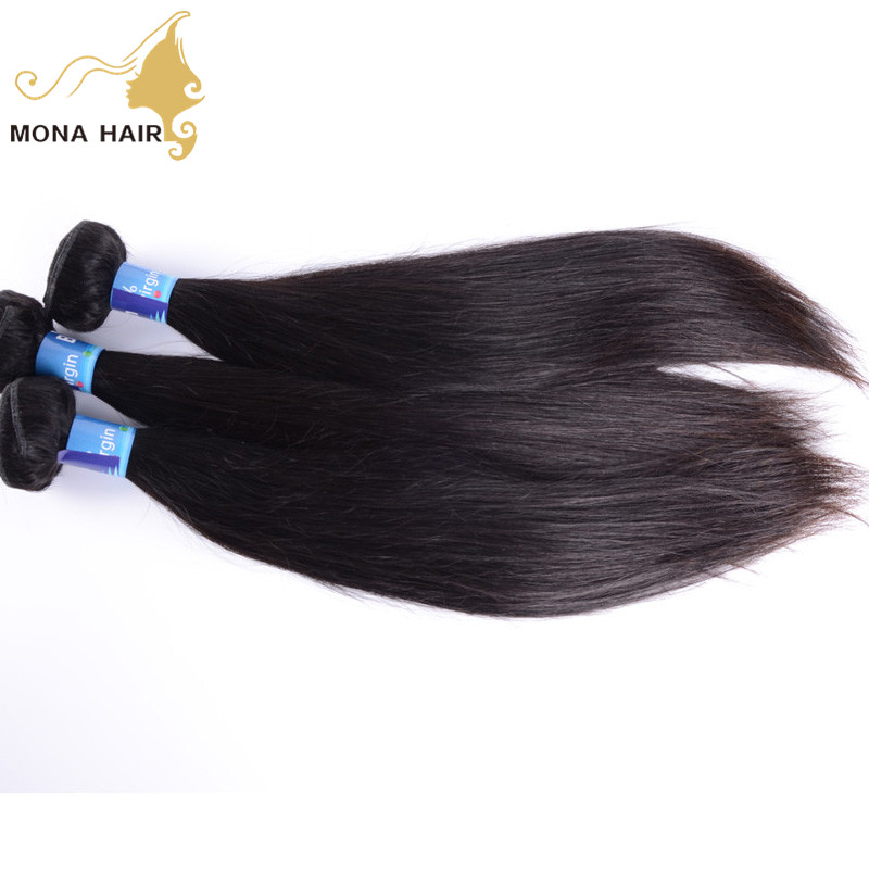 Virgin hair label oem brazilian unprocessed raw straight hair double weft thick end hair extension <strong>human</strong>