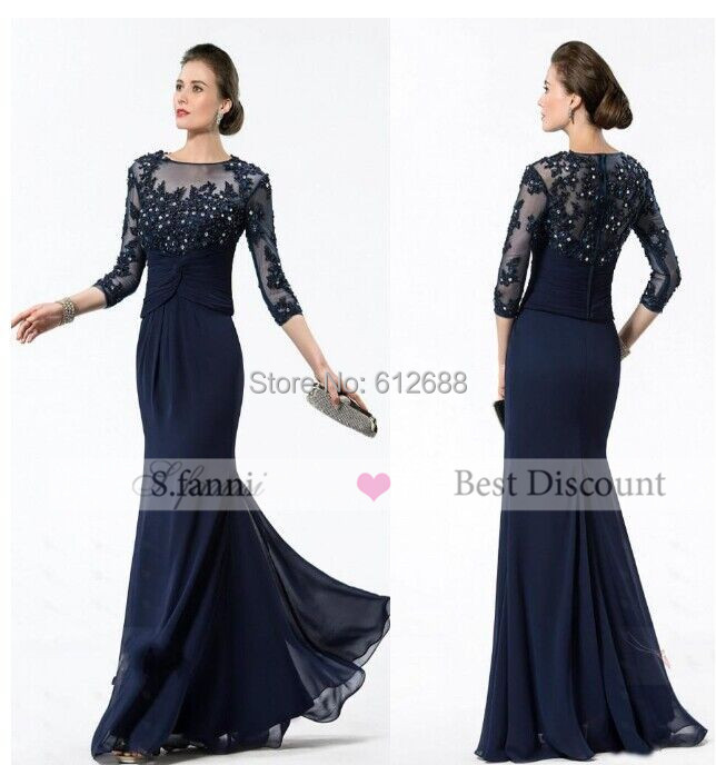 57f41bcf34 Cheap Mother Of The Bride Dresses Navy Blue, find Mother Of The ...