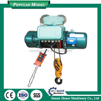 Large Lifting Weight Cable Hoist 220v Cable Pulling Equipment Wire ...