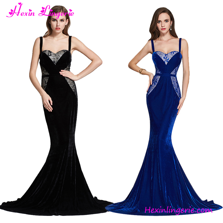 New Arrival Black Long Maxi Evening Dinner Dress Latest Gown Designs