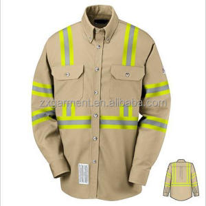 Factory worker uniforms high quality reflective work uniform construction work wear