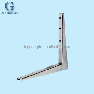 Custom metal bracket for air conditioner