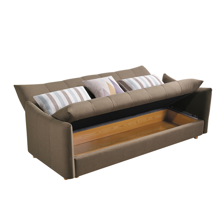 3 Seater Convertible Sleeper Couch Bed With Storage - Buy Couch Bed With  Storage,Couch With Storage Product on Alibaba.com