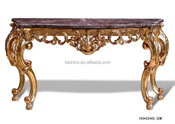 Beau Antique Wood Carved Entry Hall Console Table, Traditional Hand Carved  Console Table, Home Decorative