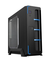 OEM Factory Supply Slim Desktop M-ATX , Micro ATX Computer Case