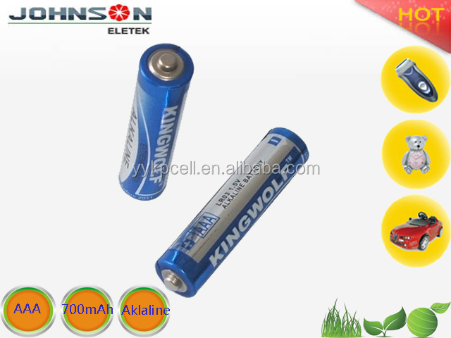 super environmental high-powered aaa alkaline battery