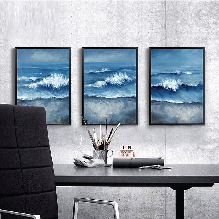 toile en plastique vague cadre photo pas cher num rique peinture cadres cadre id de produit. Black Bedroom Furniture Sets. Home Design Ideas