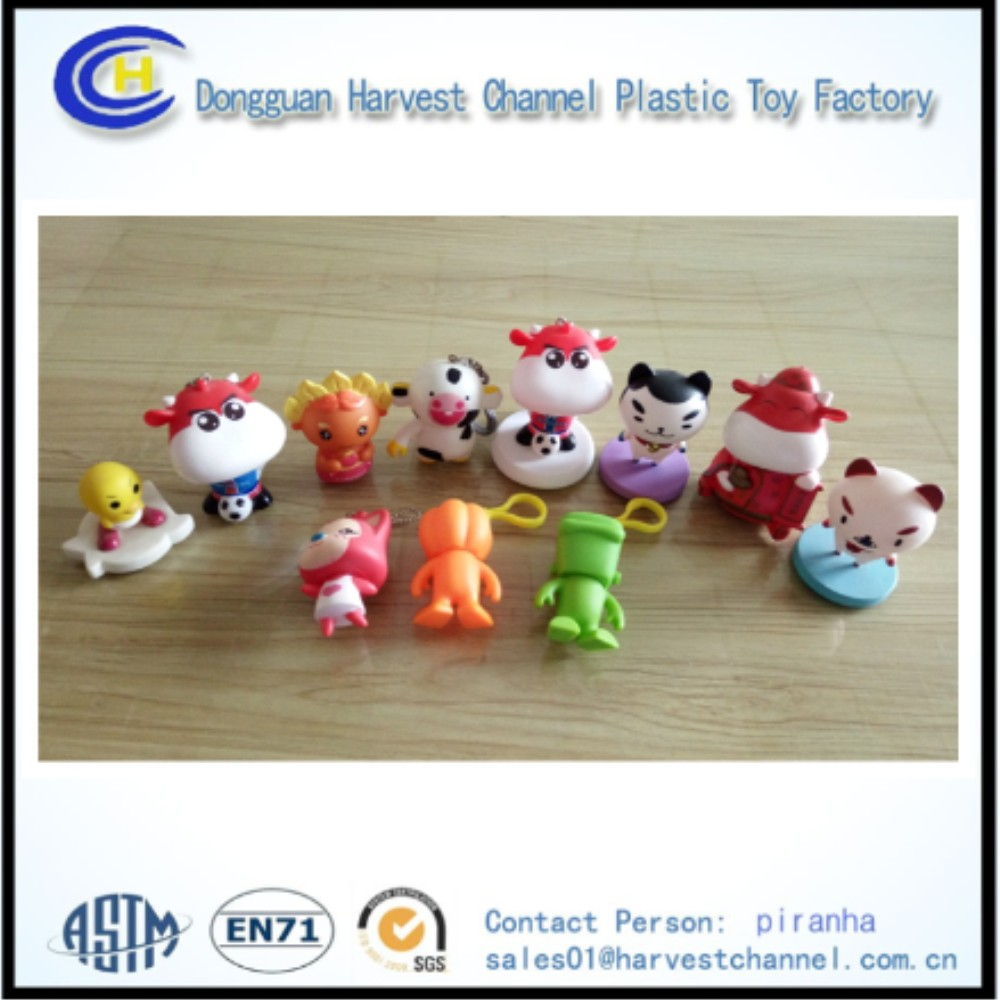 Dongguan maker cheap price pvc 3D action figurine