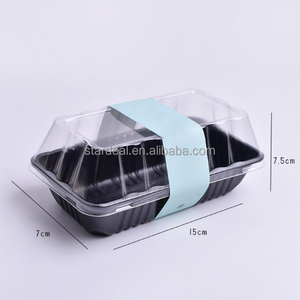 Cheap price transparent blister clear plastic biodegradable plastic tray for cake
