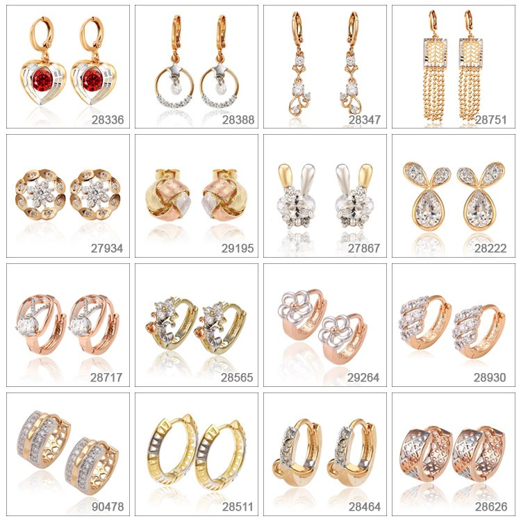 B-117 Xuping clothing jewelry golden design women metal body jewelry