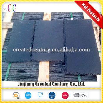 Bulk Supplier Predrill Hole Chinese Tile Roofing Slate