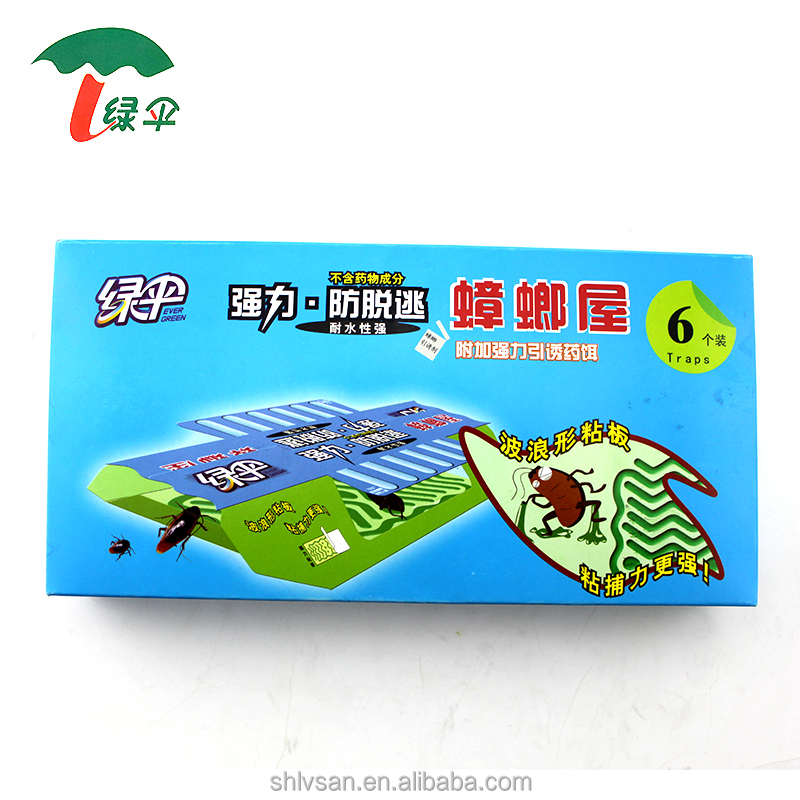 Household high quality cockroach glue trap Insect killer catcher