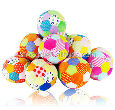 FREE SAMPLE 0-1 years old soft plush baby ball toy