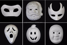 Biodegradable realistic old man halloween party face mask made in China