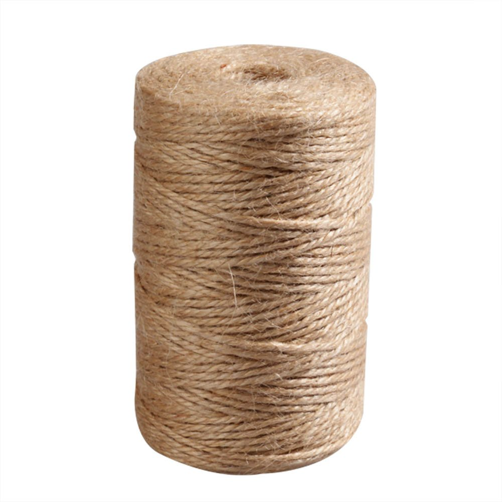 Package Twine interior decorating-natural twine used Wedding/Christmas Gift Box and home decor jute twine-360 feet 3ply.