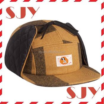 422aadc42663b Custom Winter Snapback Ski Trooper Trapper Ear Flap Frozen Cap ...
