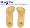 latex genuine leather massaging 3/4 insole
