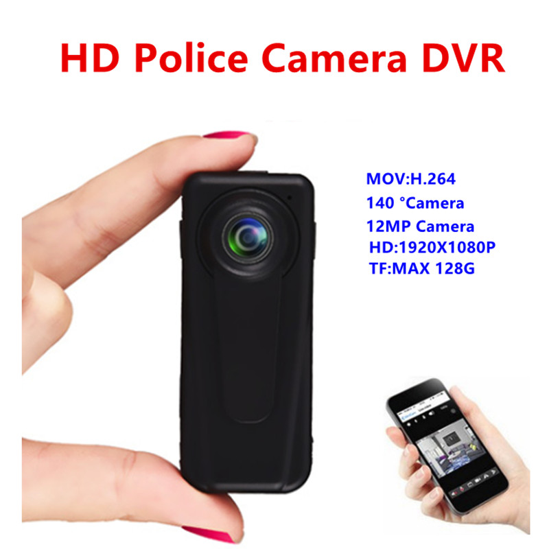 HD 1080P Law Enforcement Motion Detection Body worn DVR Camera Pocket DV Mini Security Guard Camcorders Spy Hidden Camera