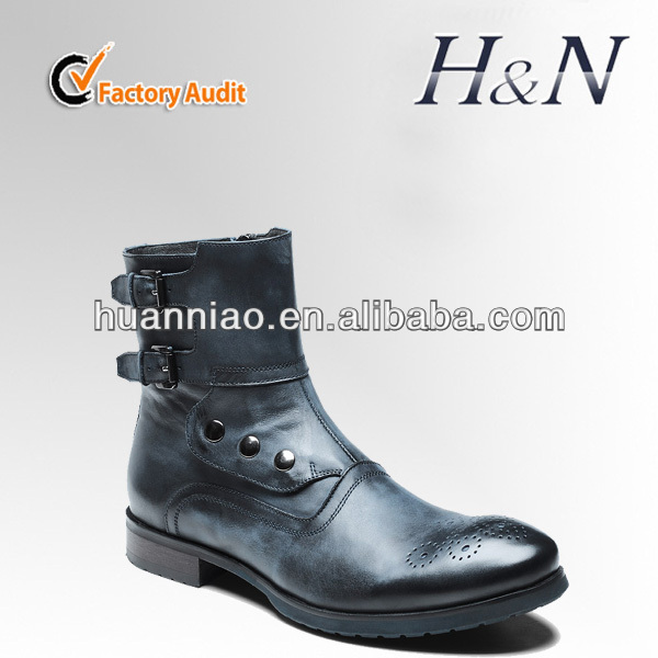 Genuine leather Men's Boots england