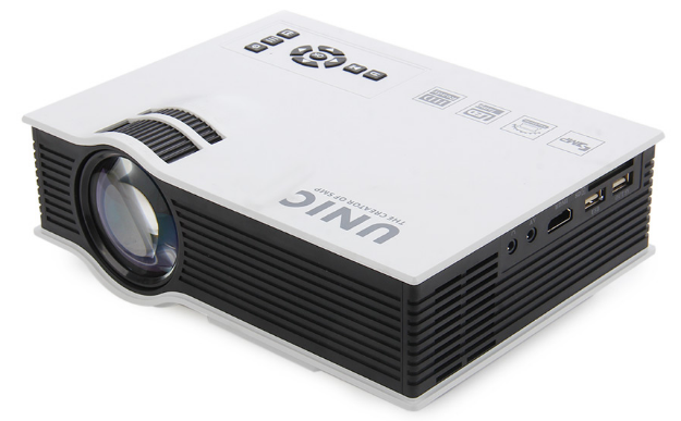 UNIC UC40+ Top Quality low price LED Mini Projectors support Full HD video movie game mini projector