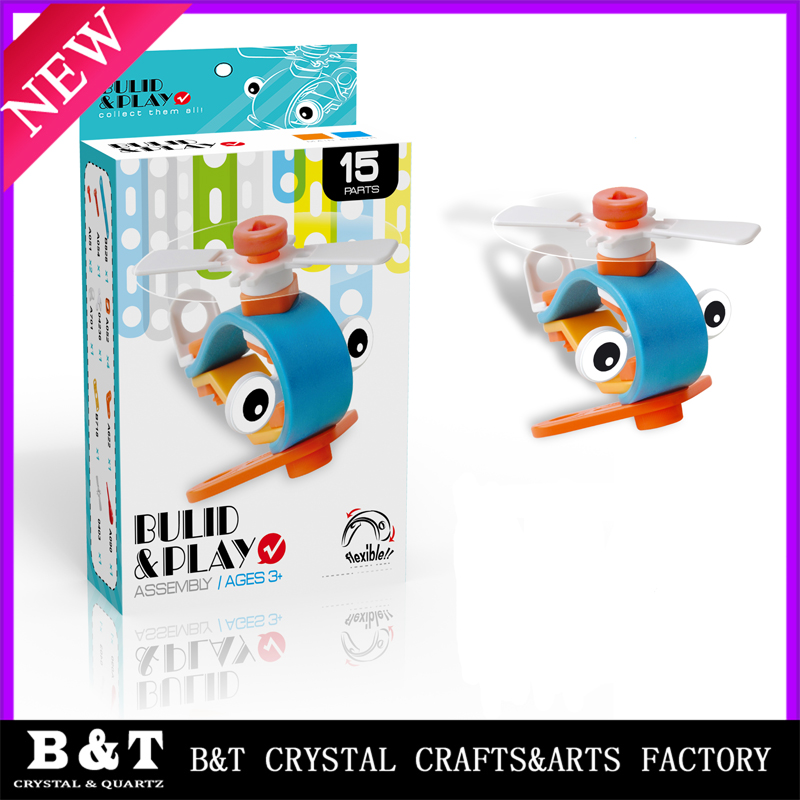 Newest children 3D model bulid play toy for kids