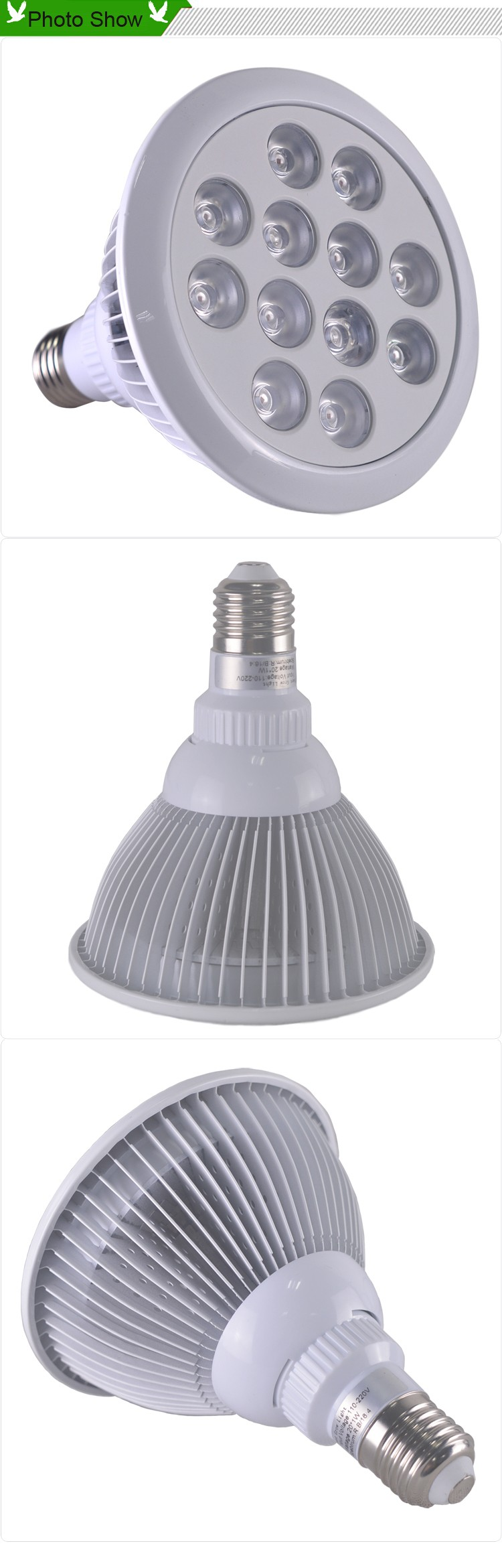 Low Cost Cheap Greenhouse Equipment 36w E27 W26 Led Grow Light Bulb Buy Led Poultry Light
