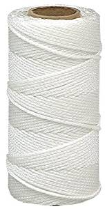 Lehigh Group NST1514HD Nylon Seine Mason Line Twine, 325', White