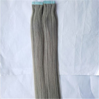 strong tape hair high quality 100% human remy tape hair extension 100g 40pcs
