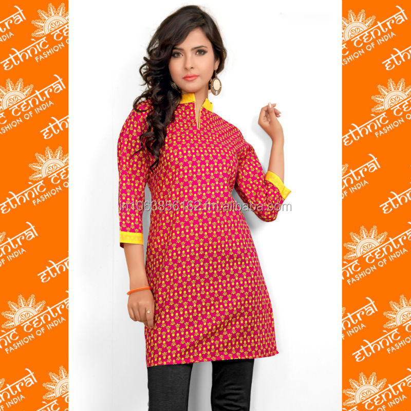 Ethnic Central's Latest 2014 Designs Girls Kurti Manufacturers In ...