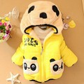 retail Children Clothing panda Cartoon Outwear Child Boy Winter Wear Thickening Outerwear Coat Kids baby cotton