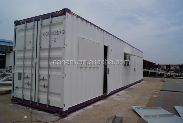 CANAM-Economical Pack Conteiner Residential sandwich 40 feet house