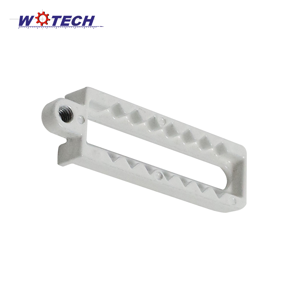 Zinc alloy chroming parts customized aluminum die casting parts