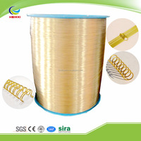 various sizes metal wire nylon coated wire for double or single ring