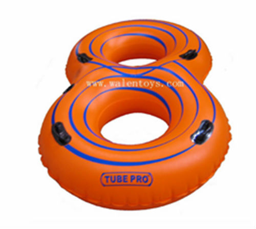 "Double River Tube,Orange,Blue,76""*48"""