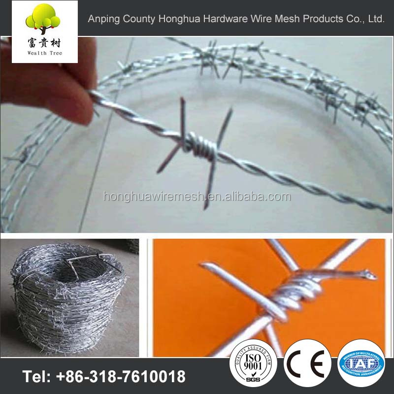 3-strands Barbed Wire, 3-strands Barbed Wire Suppliers and ...