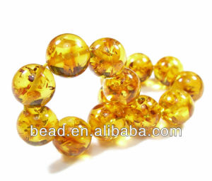 faux all type of loose amber beads