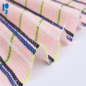 Fine Vertical Striped Dobby 100% Polyester Fabric