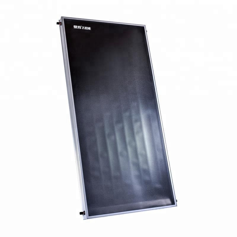 SHe-BK Factory Direct Sale OEM Black Chrome Solar Thermal Collector For Hot Water Project