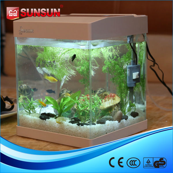 Sunsun Plastic Aquarium Fish Tank Desk Nano Tank